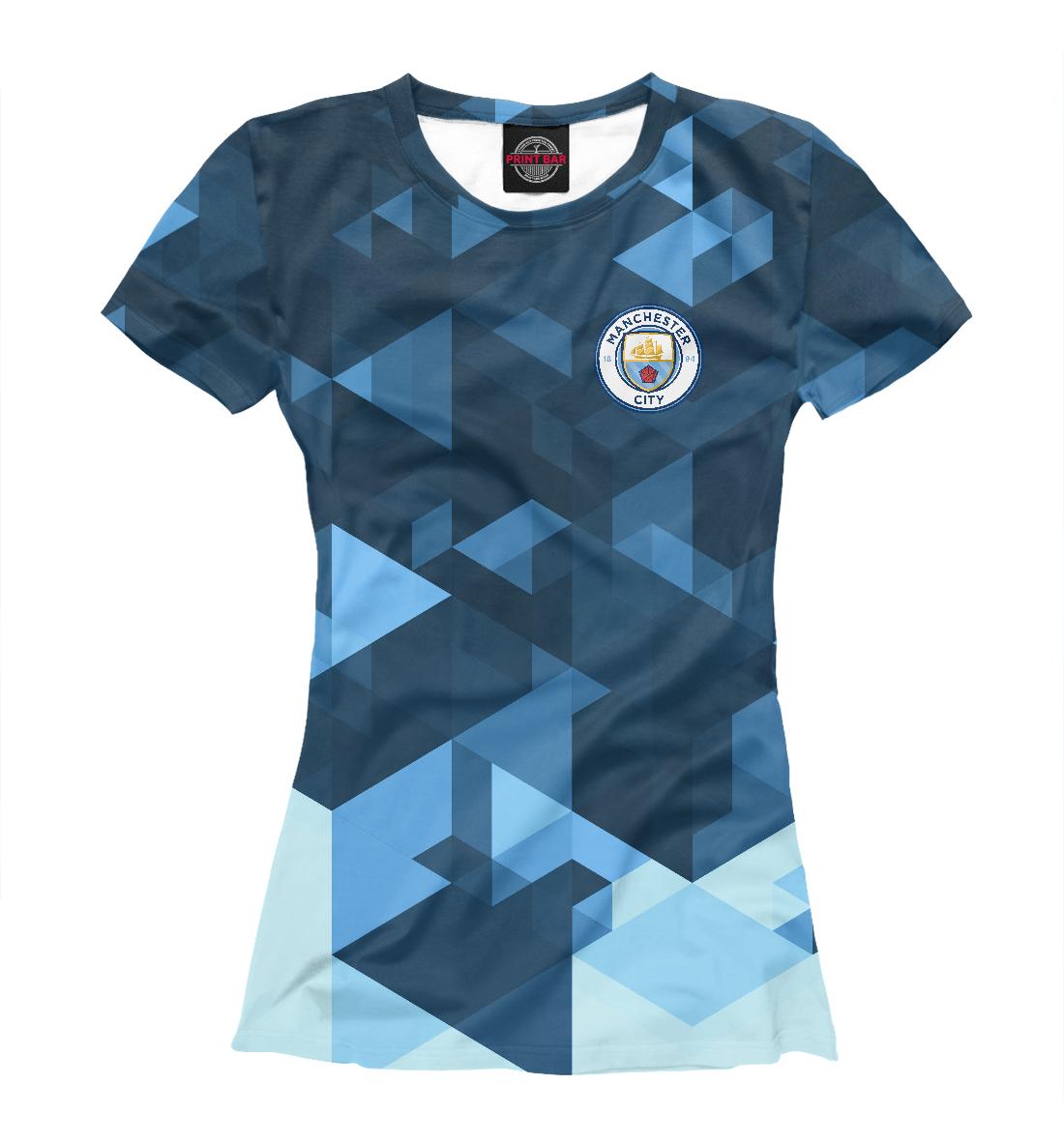 Купить Manchester City Abstract, Printbar, Футболки, MNC-929386-fut-1