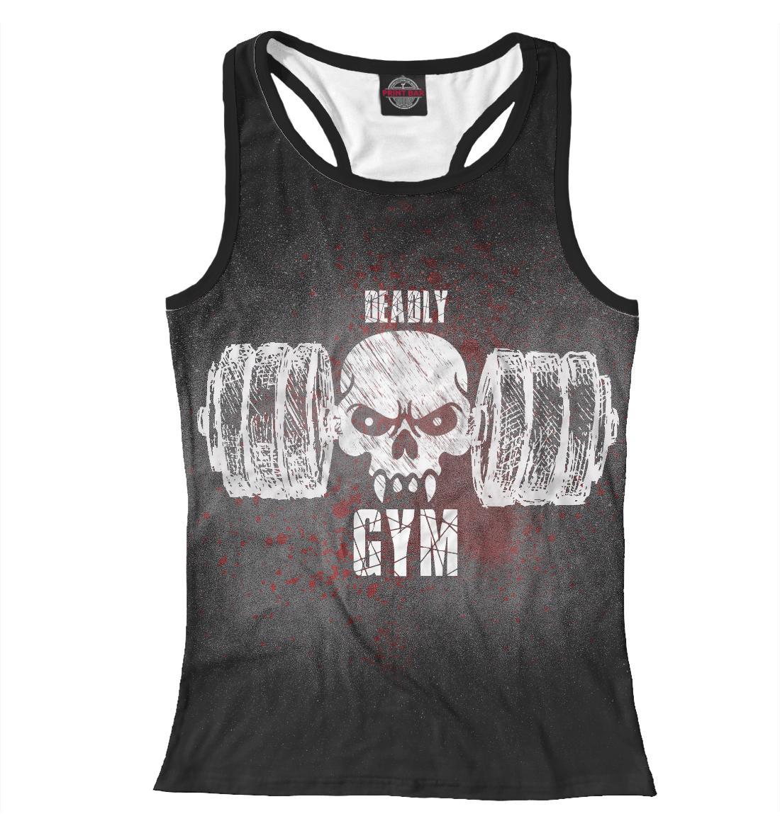 Купить Deadly GYM II, Printbar, Майки борцовки, FIT-593977-mayb-1