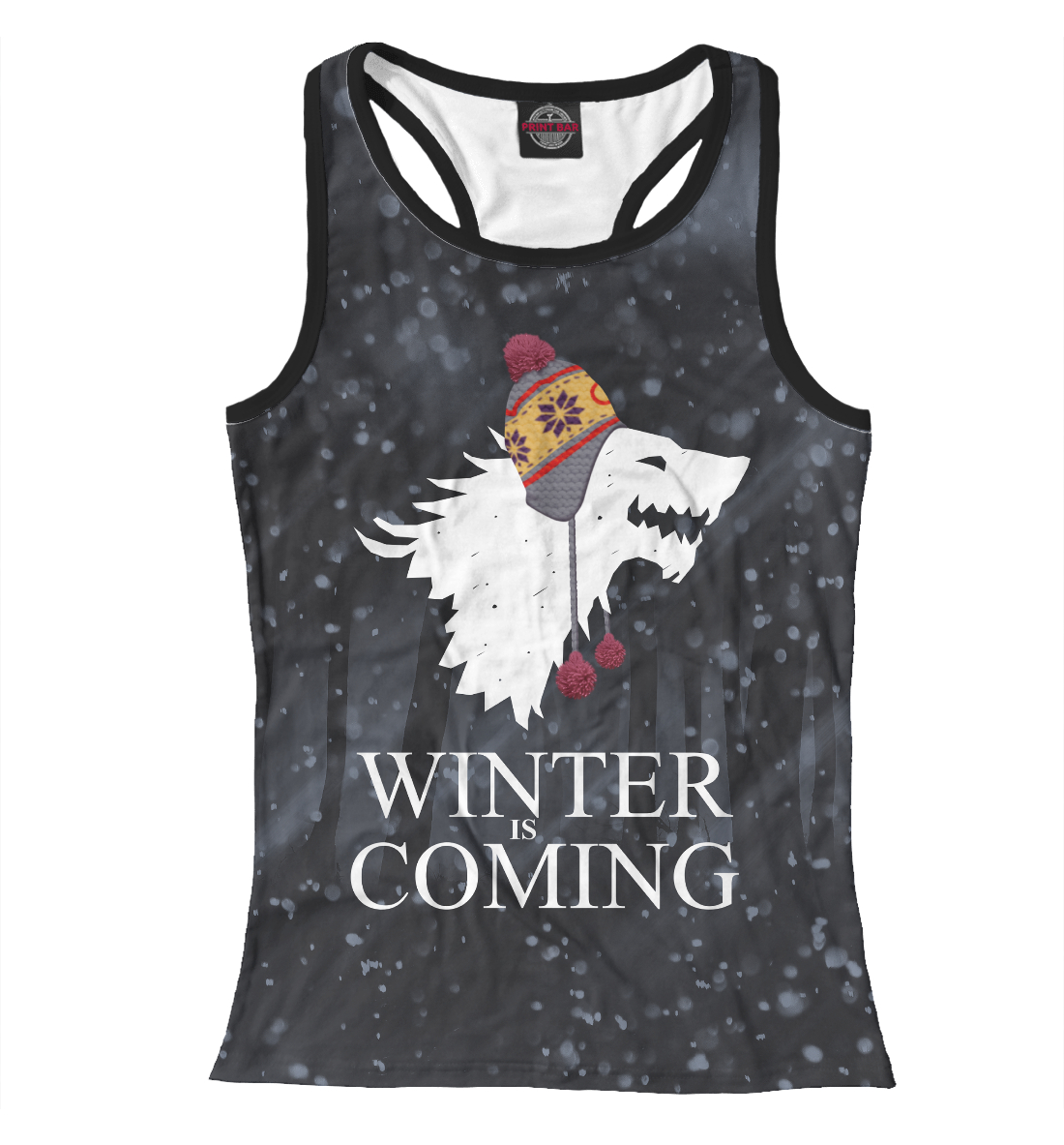 Купить Зима близко, Printbar, Майки борцовки, IGR-496837-mayb-1