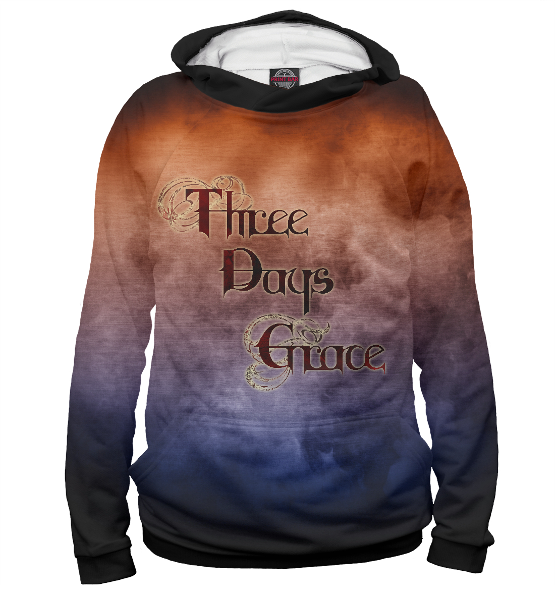 Купить Three Days Grace, Printbar, Худи, TDG-149065-hud-2