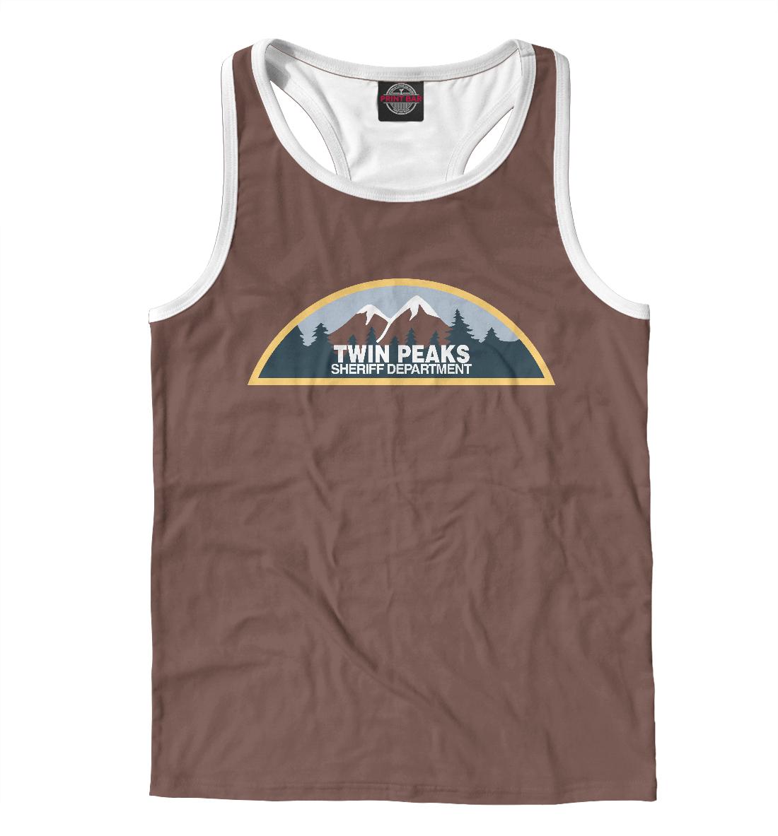 Купить Twin Peaks Sheriff Department, Printbar, Майки борцовки, TPS-888354-mayb-2