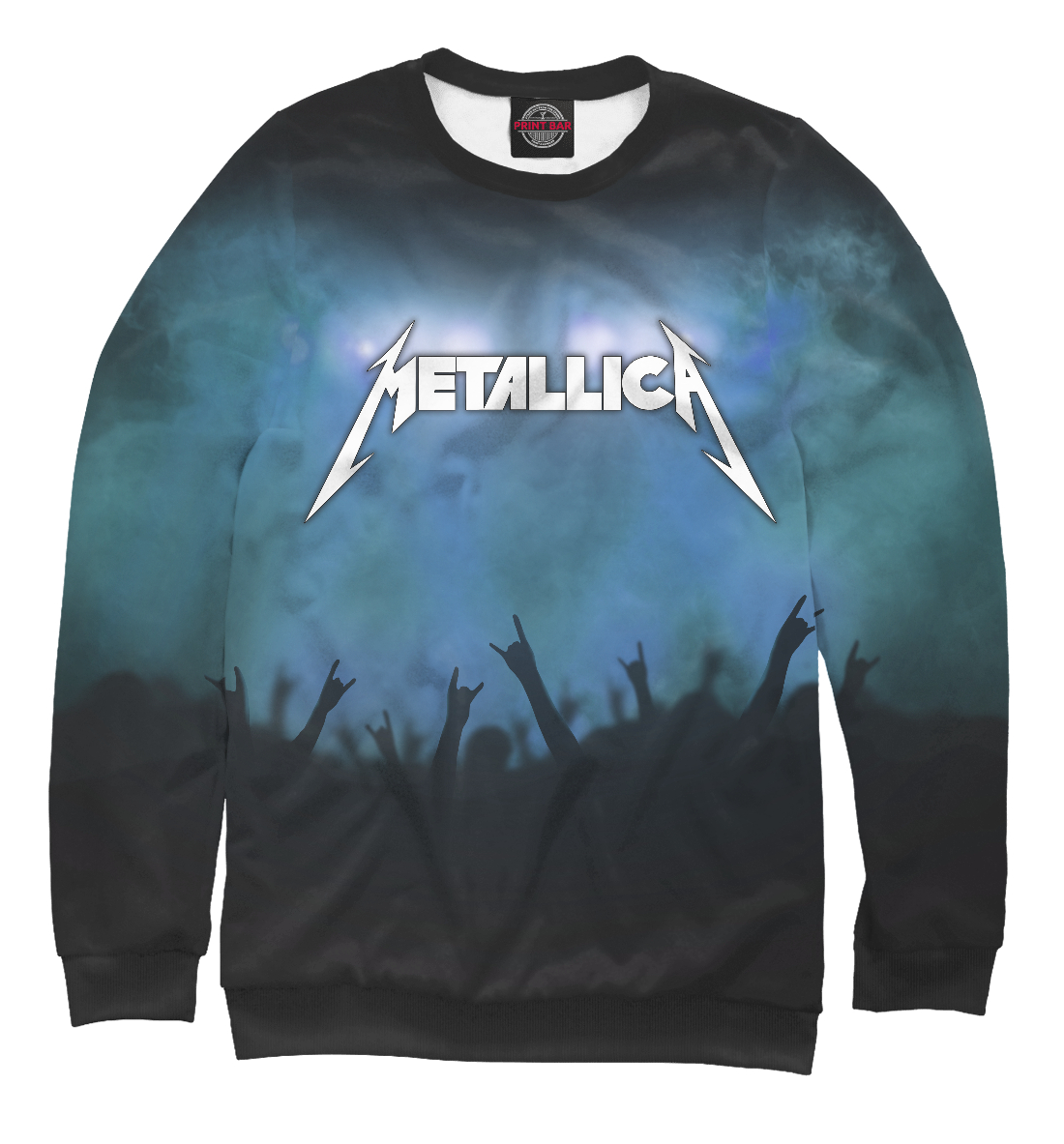 Купить Metallica, Printbar, Свитшоты, MET-150985-swi-1