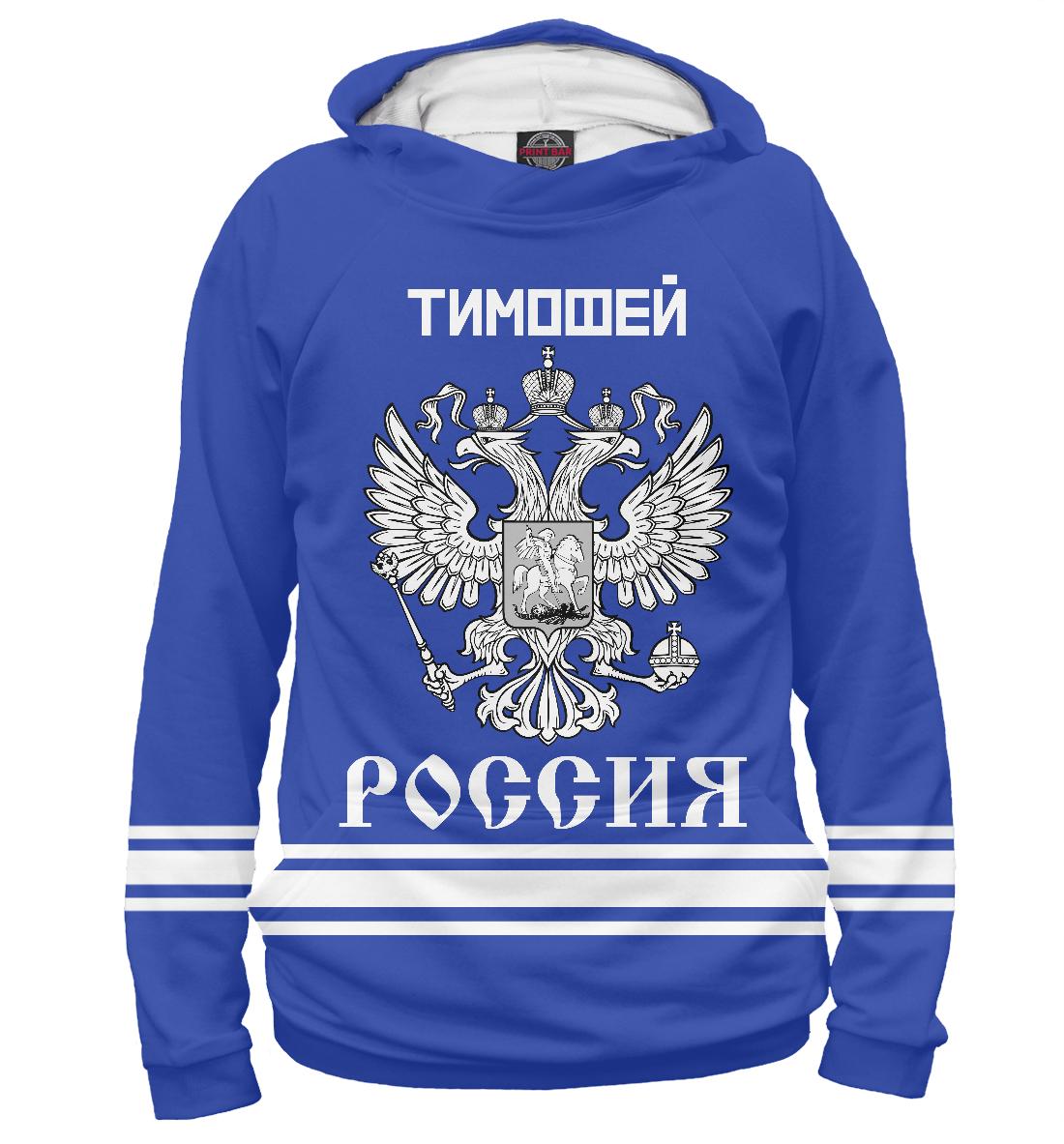 Купить ТИМОФЕЙ sport russia collection, Printbar, Худи, TMF-247508-hud-1