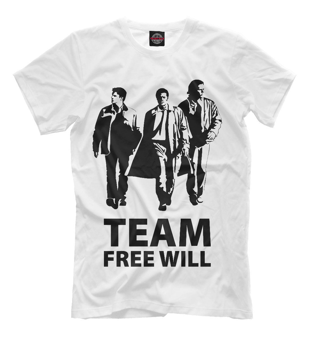 Купить Team Free Will, Printbar, Футболки, SVE-291069-fut-2