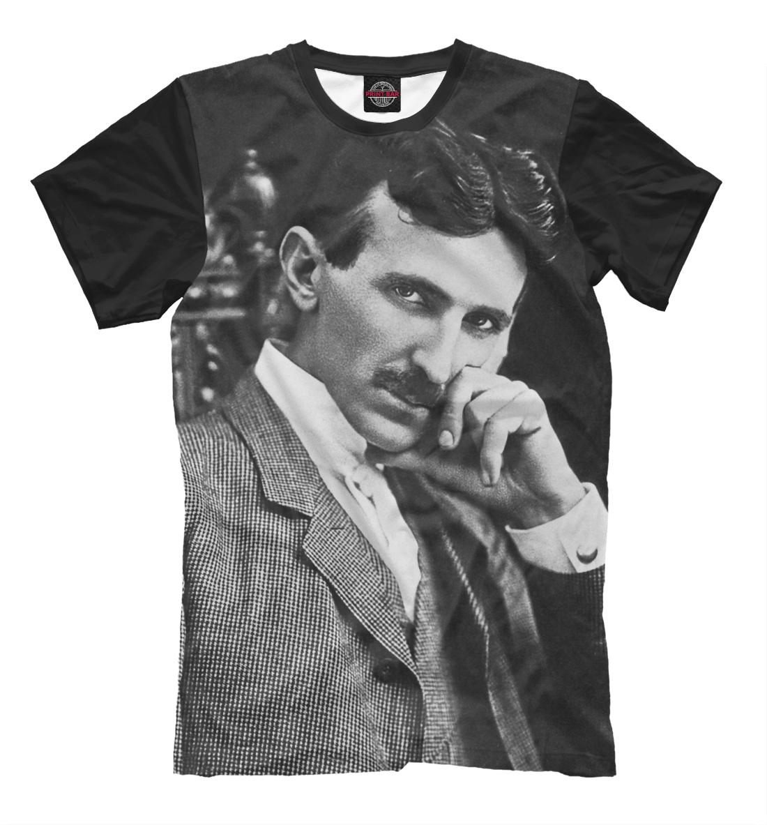 Купить Никола Тесла, Printbar, Футболки, ISR-719994-fut-2