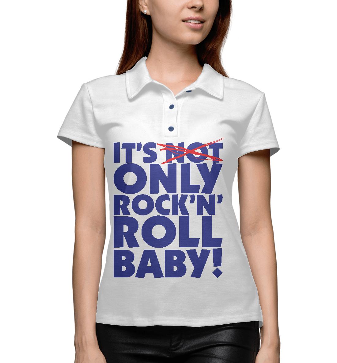 Купить Rock-n-roll, Printbar, Поло, RCK-387654-pol-1