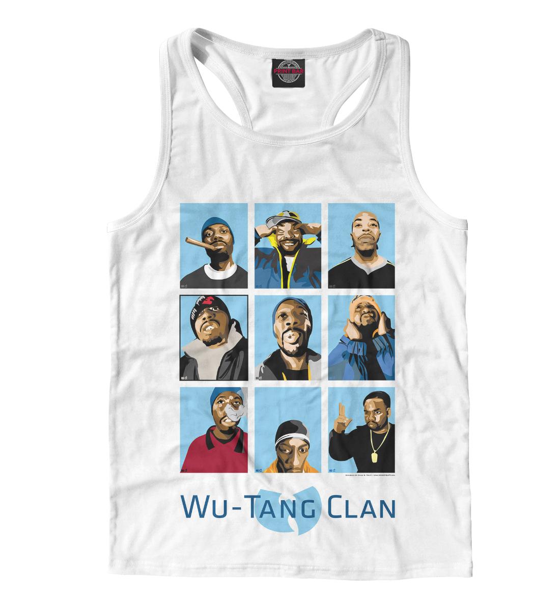 Купить Wu-Tang Clan, Printbar, Майки борцовки, WTK-204372-mayb-2