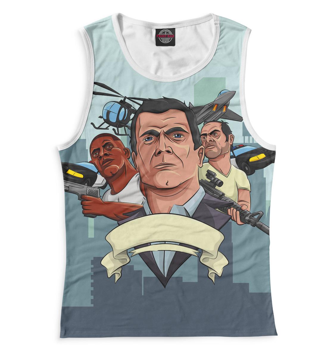 Купить Grand Theft Auto V, Printbar, Майки, ROC-598560-may-1