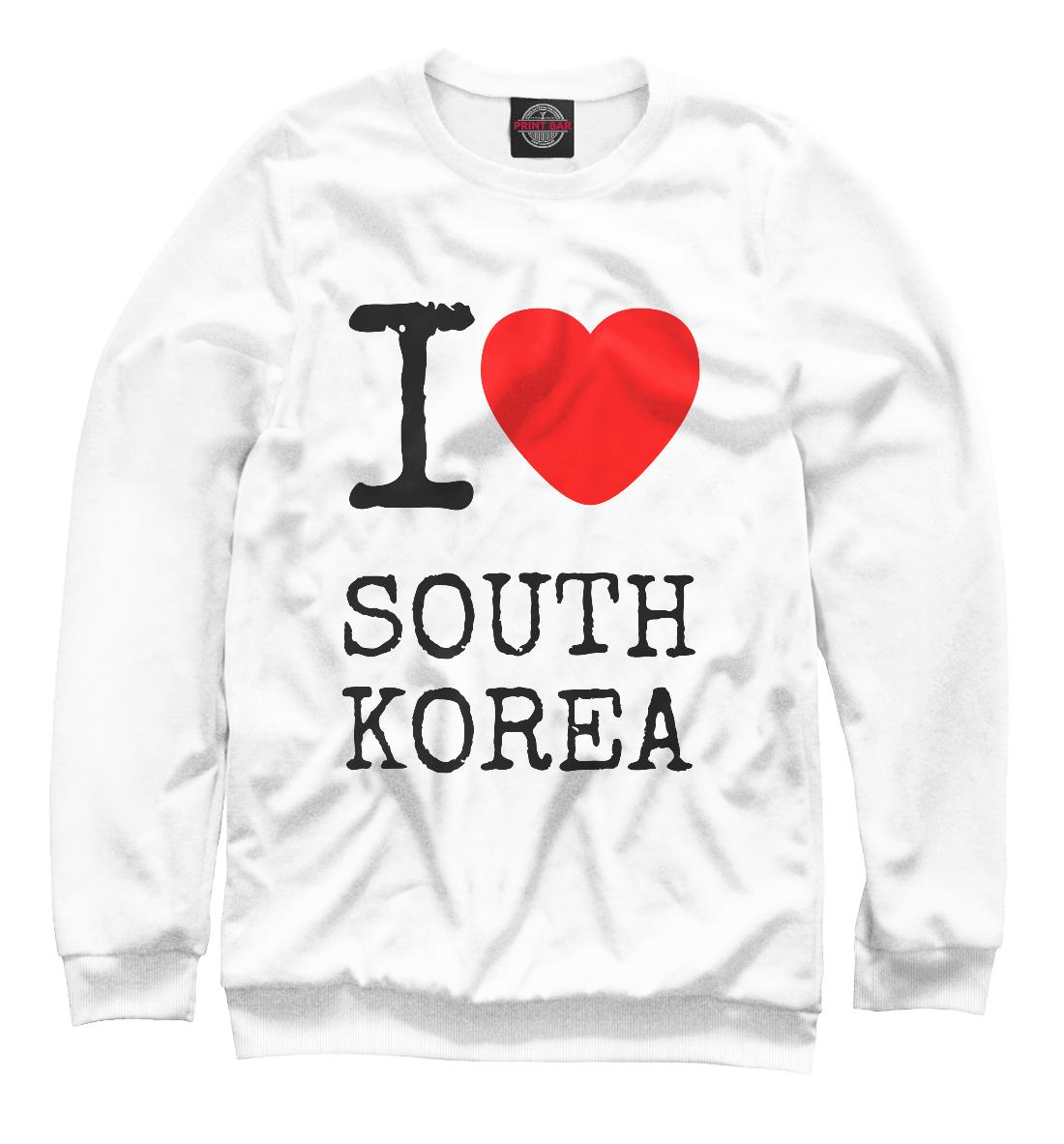 Купить I love South Korea, Printbar, Свитшоты, KPP-732068-swi-1