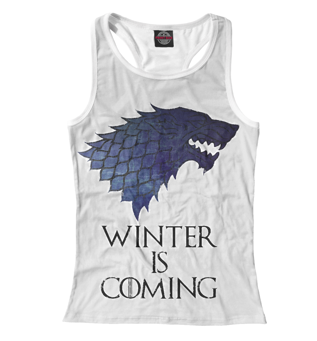 Купить Winter Is Coming, Printbar, Майки борцовки, NOV-779367-mayb-1