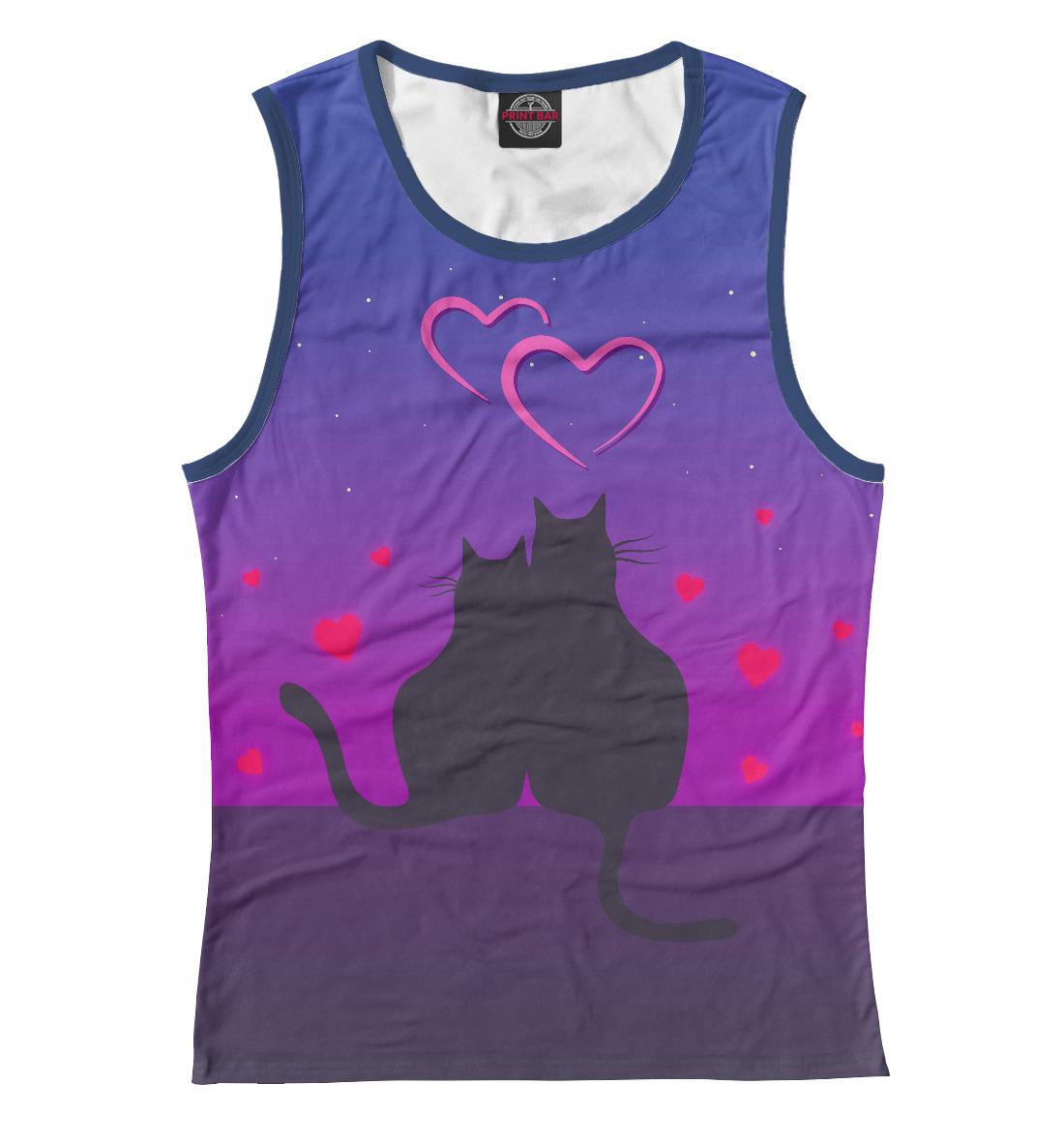 Купить Cat's desire. Парные футболки., Printbar, Майки, 14F-763648-may-1