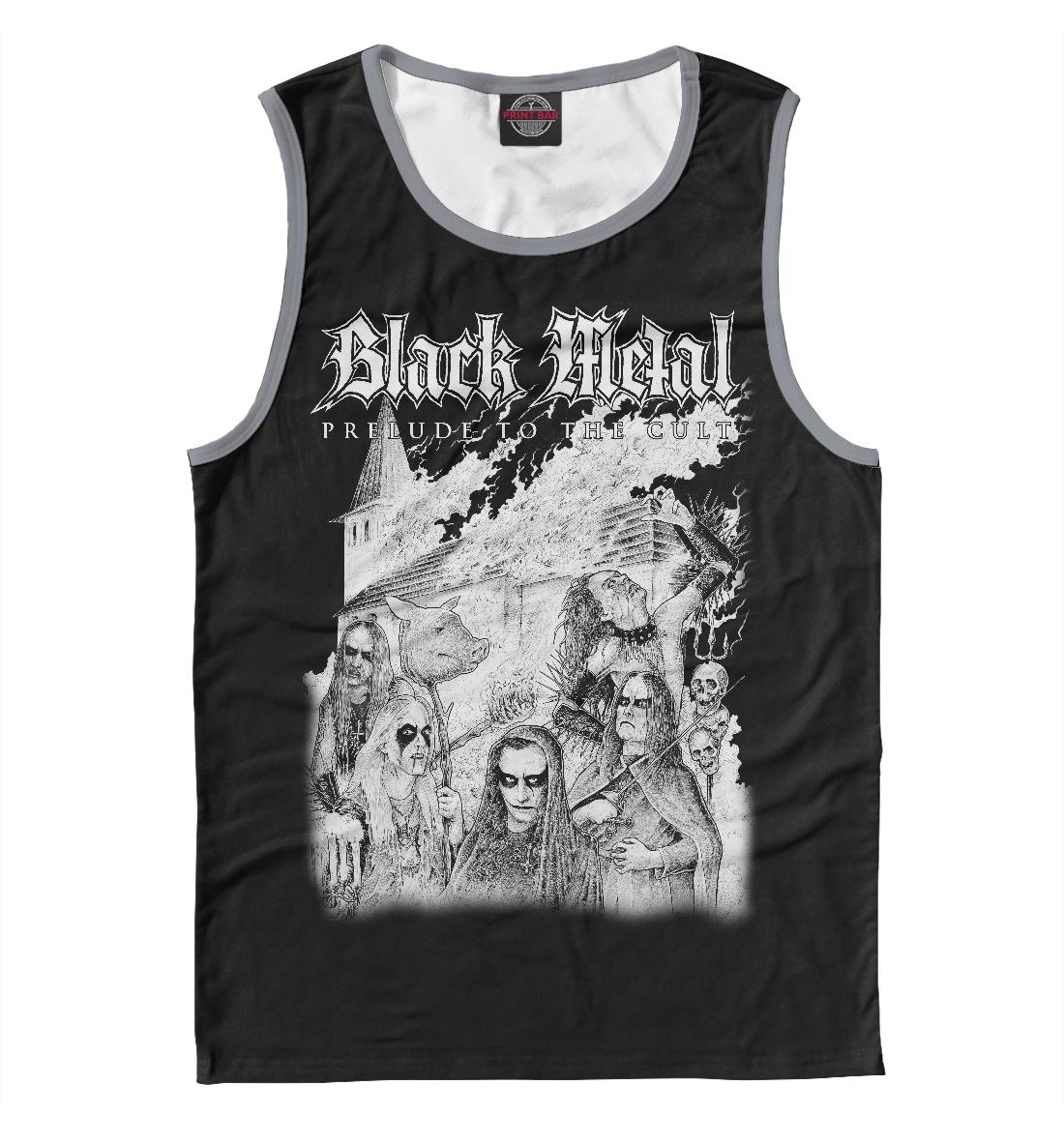 Купить Black Metal, Printbar, Майки, MZK-267645-may-2