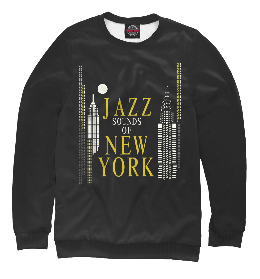Купить Jazz New-York, Printbar, Свитшоты, JAZ-546429-swi-2