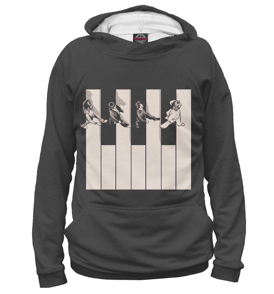 Купить Crossing the Keyboard, Printbar, Худи, BTS-919178-hud-1