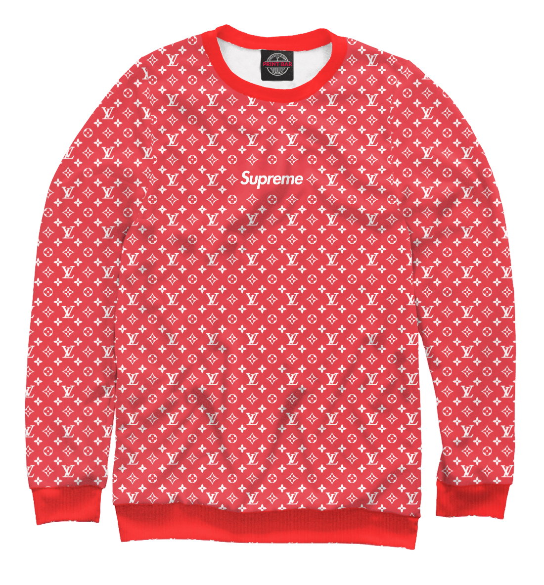 Купить SUPREME Louis Vuitton, Printbar, Свитшоты, SPR-739701-swi-1