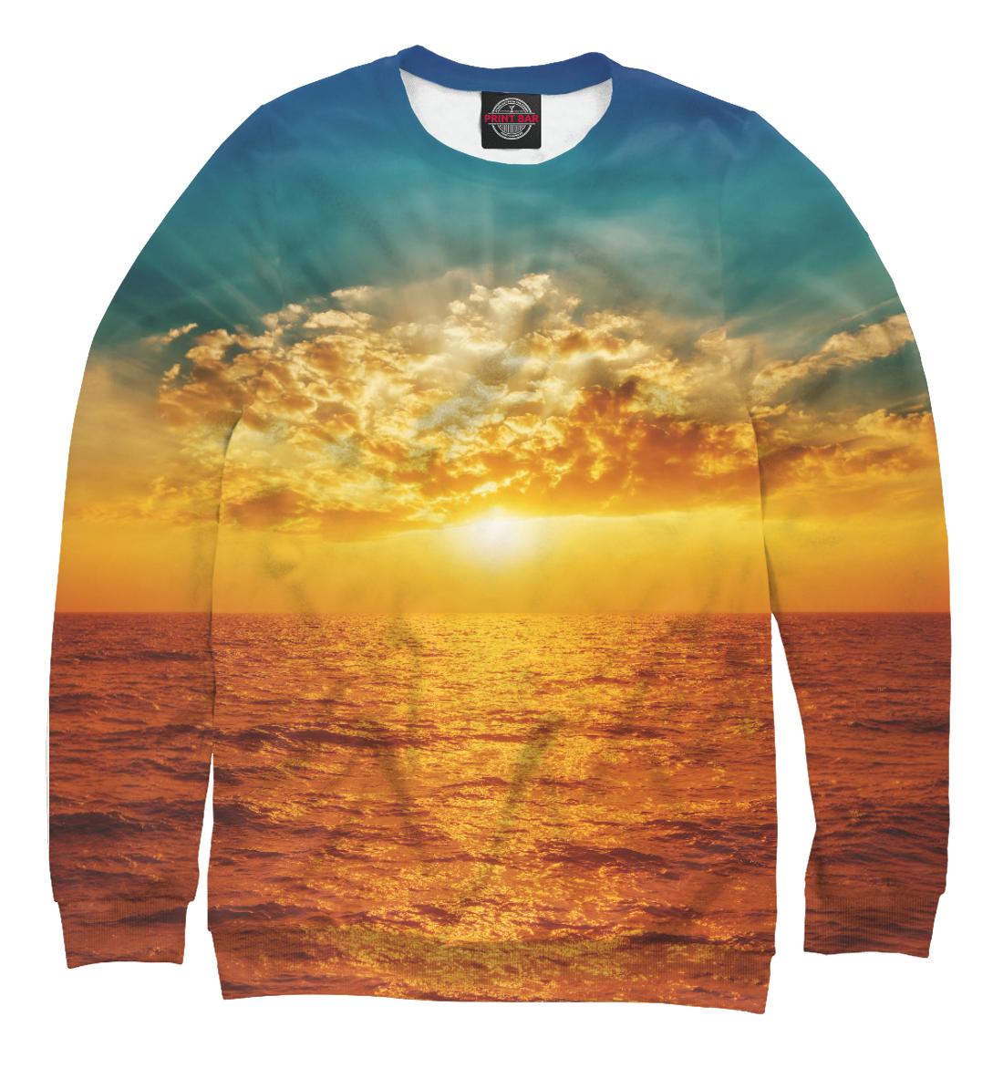 Купить Прекрасный морской закат, Printbar, Свитшоты, MST-807617-swi-2