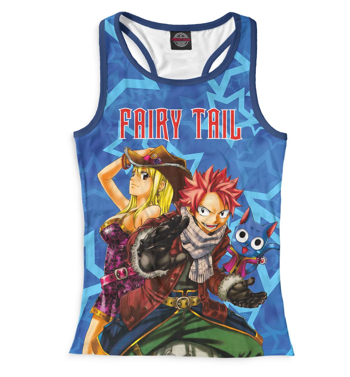 Купить Fairy Tail, Printbar, Майки борцовки, FYT-350573-mayb-1