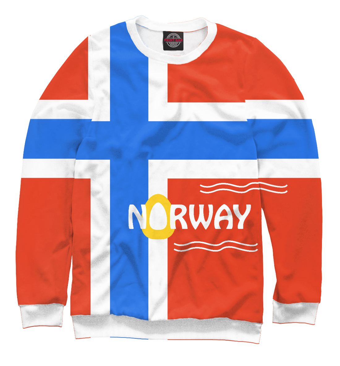 Купить Норвегия, Printbar, Свитшоты, CTS-292150-swi-1