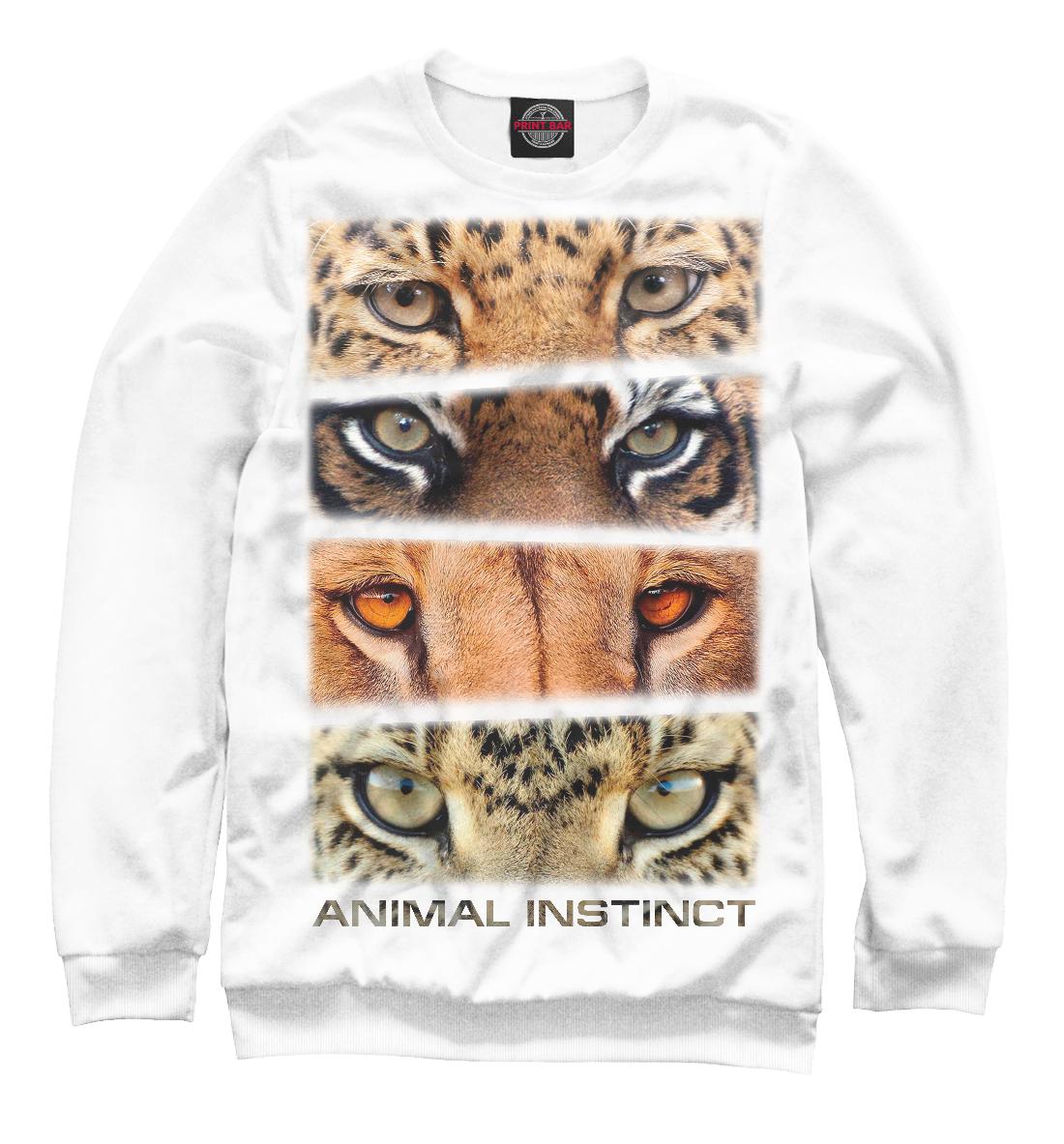 Купить Animal instinct, Printbar, Свитшоты, HIS-871868-swi-1