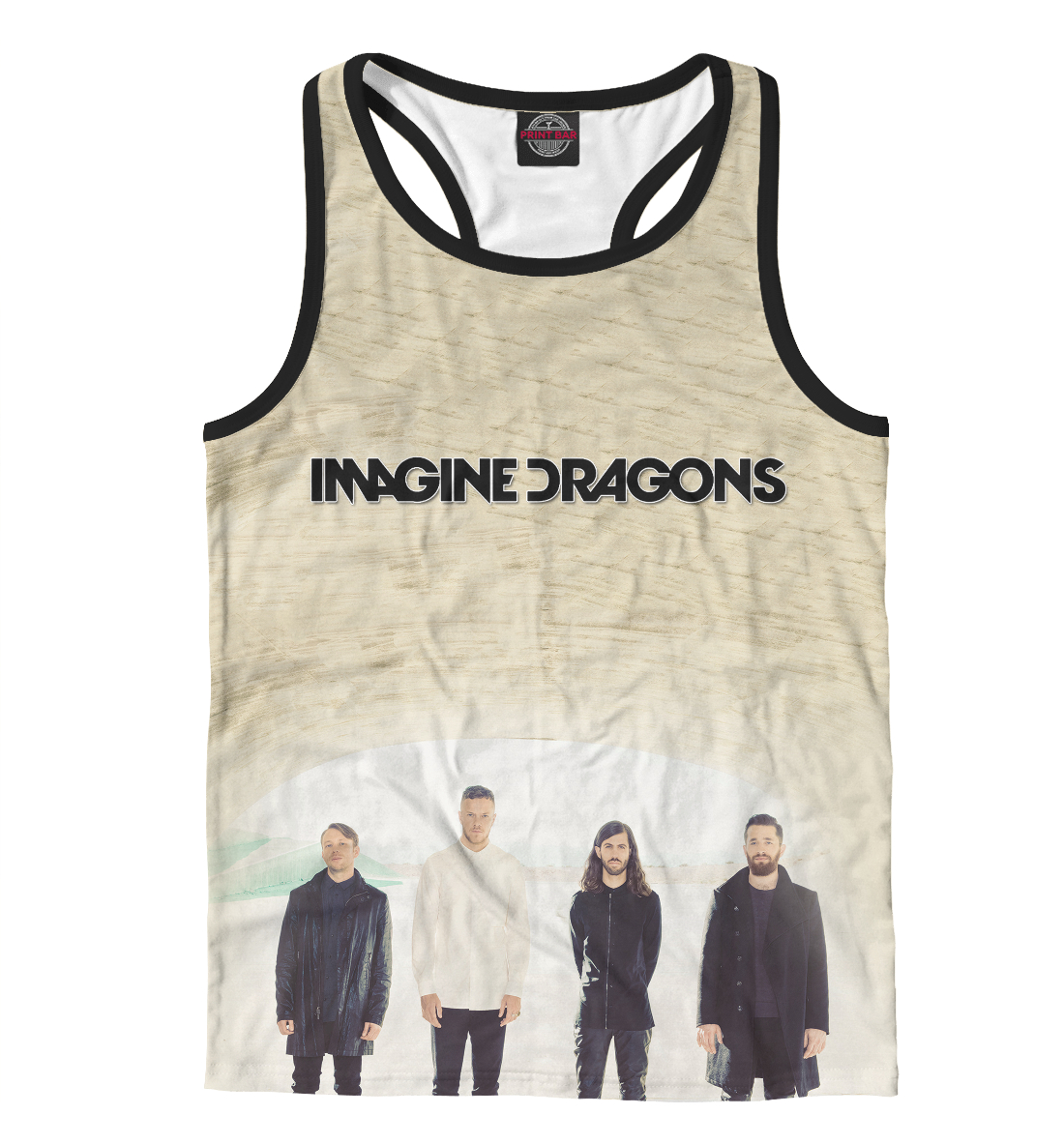 Купить Imagine Dragons, Printbar, Майки борцовки, IMA-431668-mayb-2