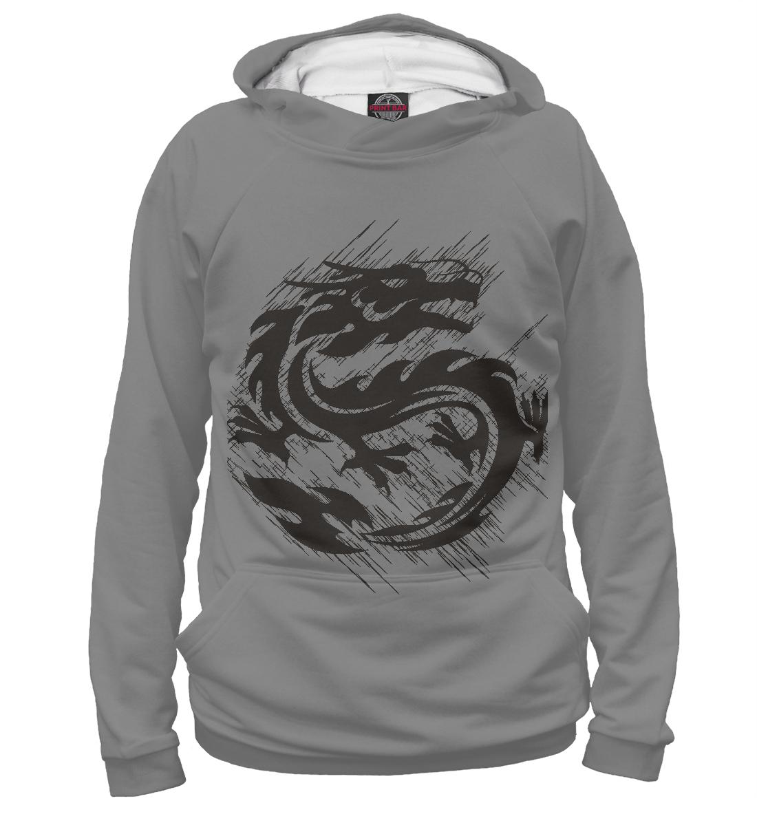 Купить Драконы, Printbar, Худи, DRA-754851-hud-2