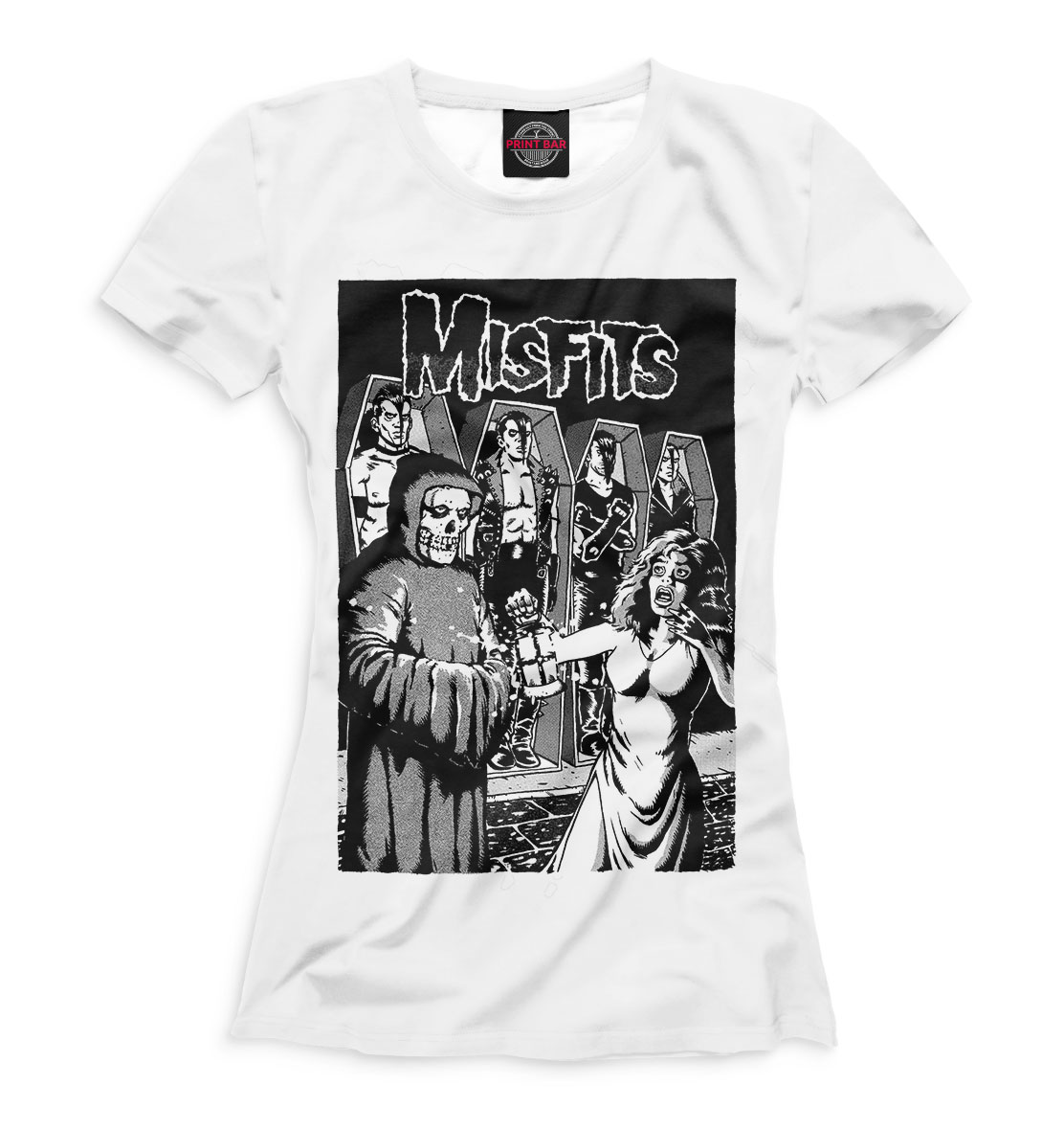 Купить The Misfits, Printbar, Футболки, MFS-225323-fut-1