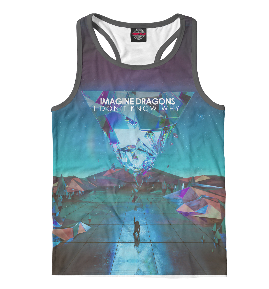 Купить Imagine Dragons / I Don't Know Why, Printbar, Майки борцовки, IMA-324934-mayb-2