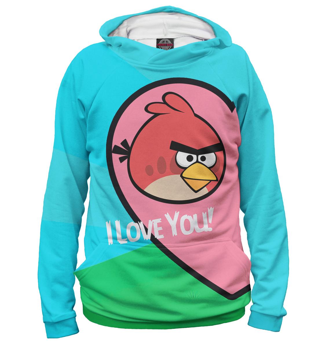 Купить Angry Birds in love, Printbar, Худи, 14F-315750-hud-2