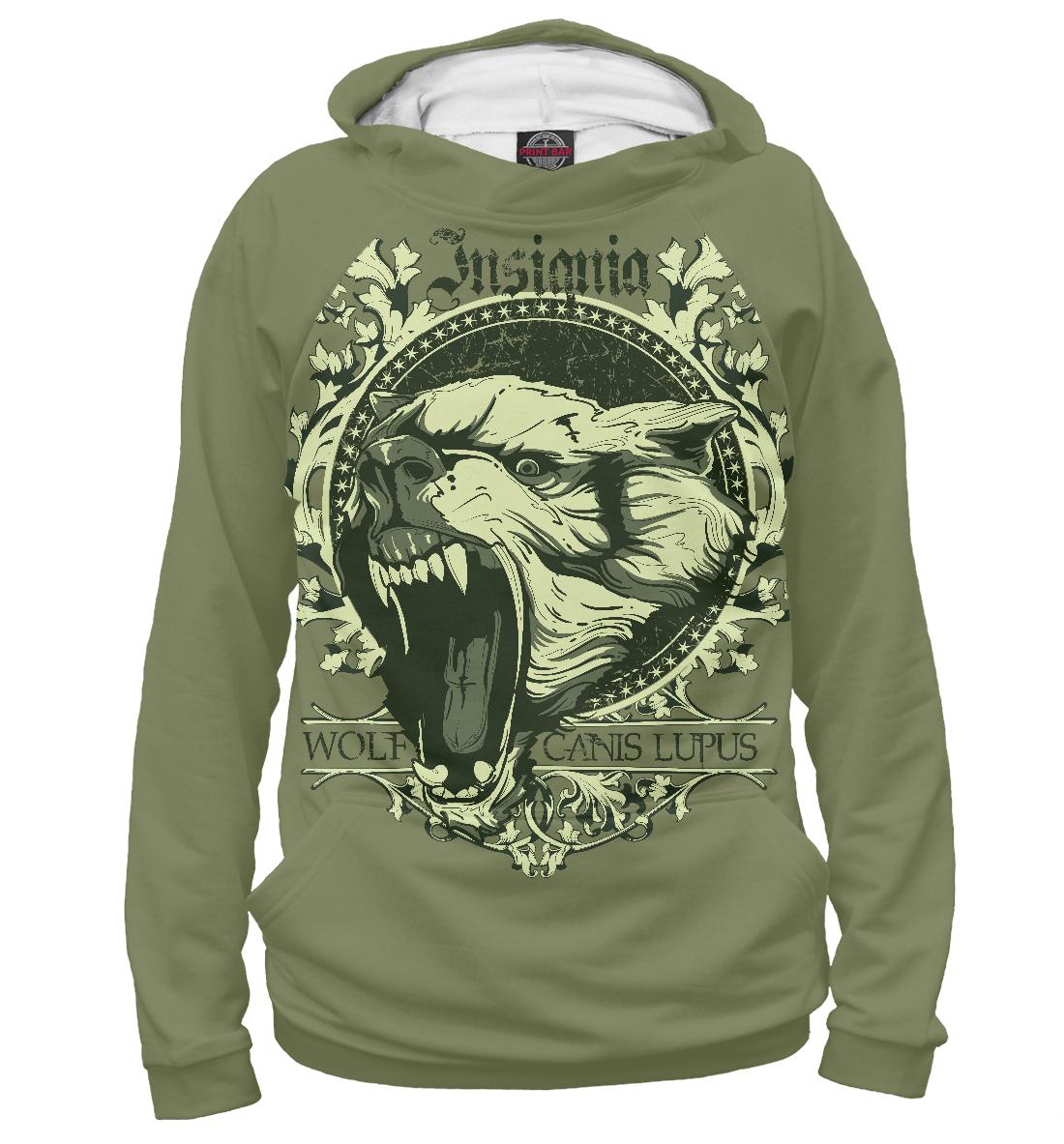 Купить Эмблема Волк, Printbar, Худи, VLF-563736-hud-1