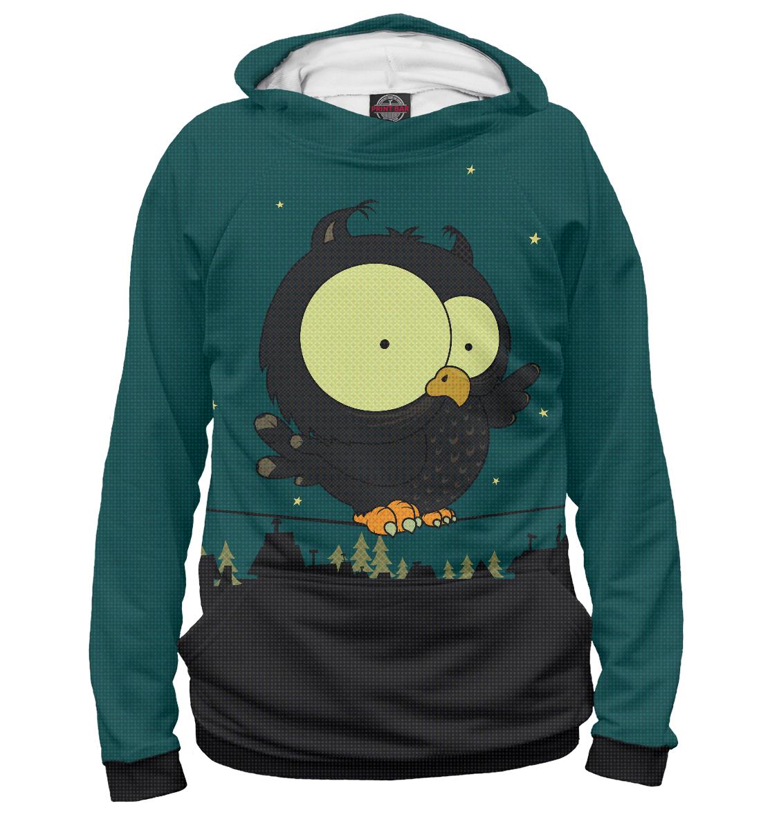 Купить Совёнок, Printbar, Худи, OWL-942714-hud-1