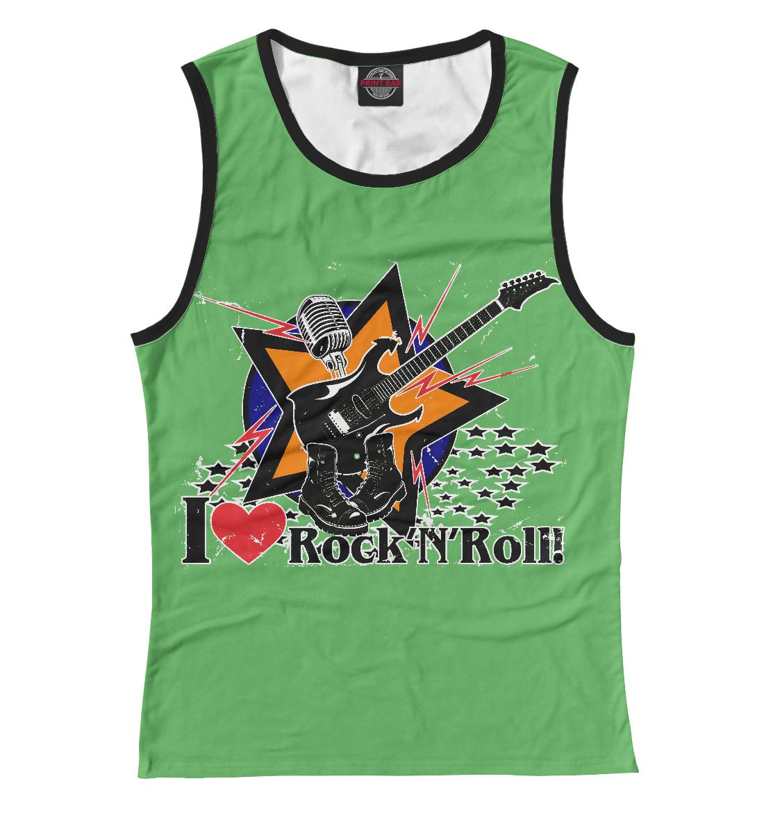 Купить I love Rock-n-nRoll, Printbar, Майки, RCK-265320-may-1