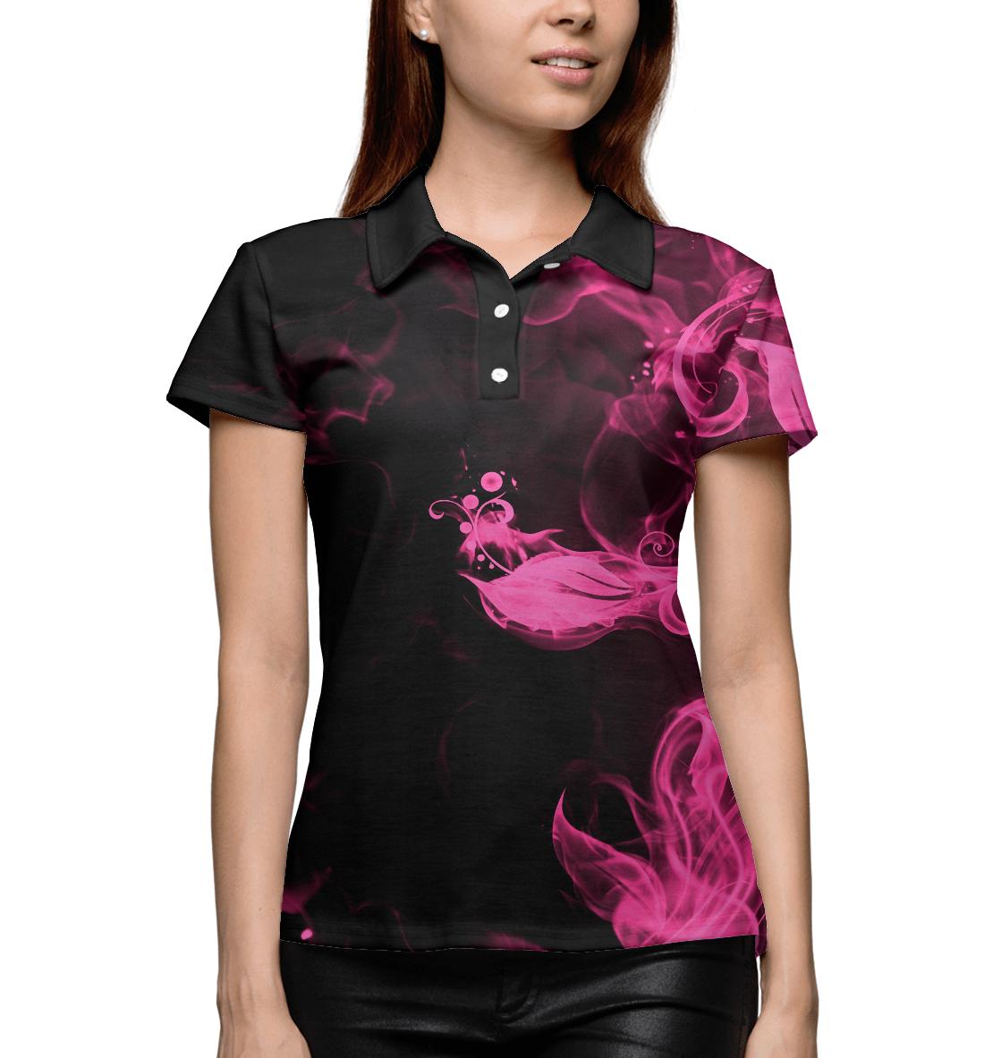 Купить Розовый огонь, Printbar, Поло, APD-897241-pol-1