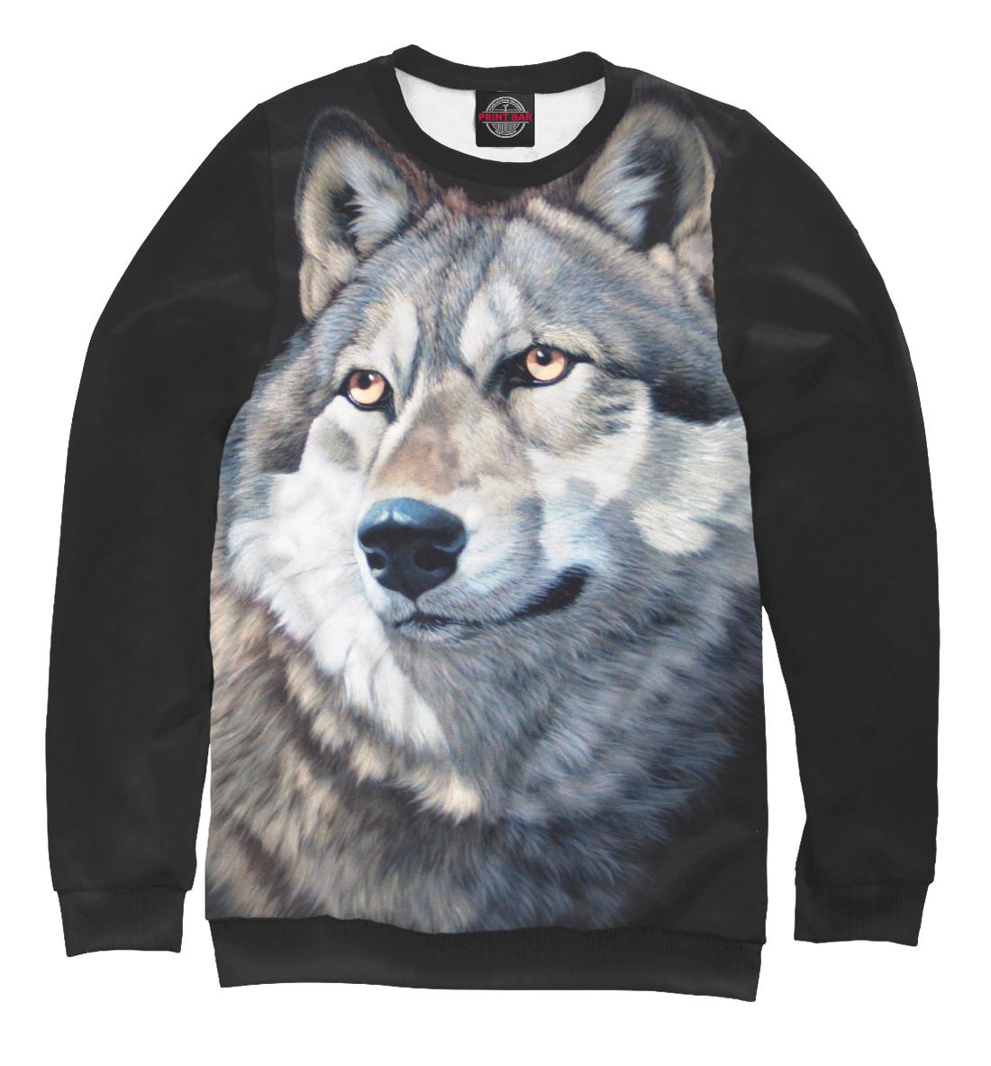 Купить Волк Вожак, Printbar, Свитшоты, VLF-372603-swi-1