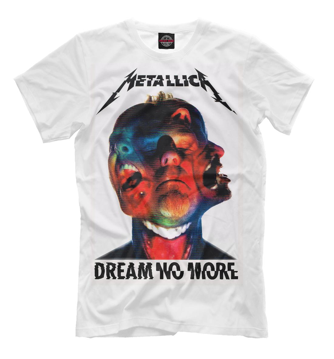 Купить Metallica Dream No More, Printbar, Футболки, MET-651214-fut-2