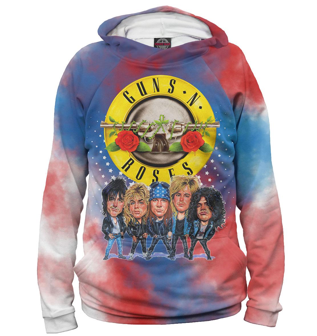Купить Guns N' Roses, Printbar, Худи, GNR-329135-hud-2