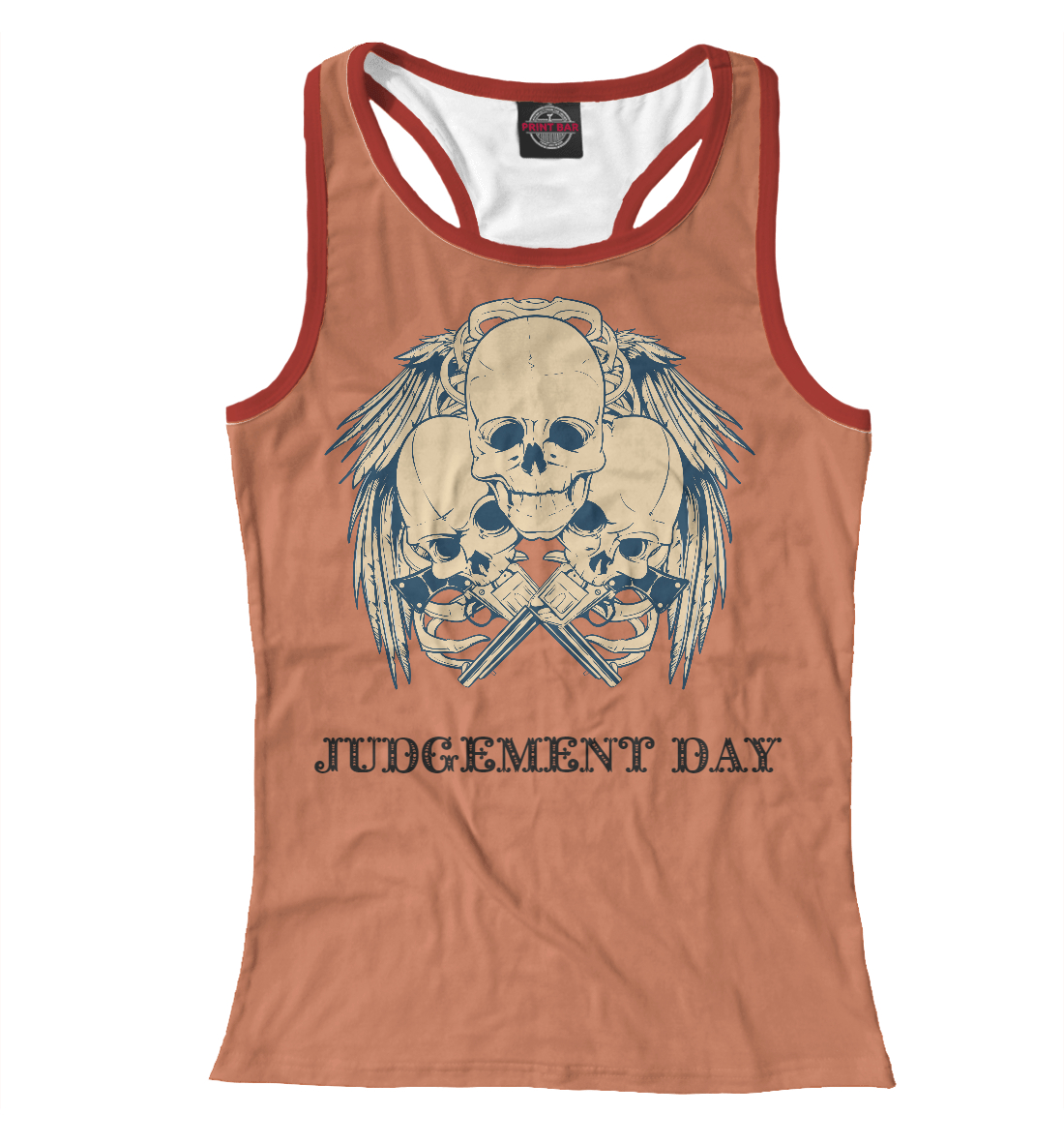 Купить Judgement Day, Printbar, Майки борцовки, SKU-813070-mayb-1