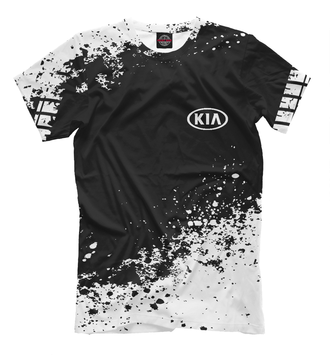 Купить Kia abstract sport uniform, Printbar, Футболки, AMP-137239-fut-2