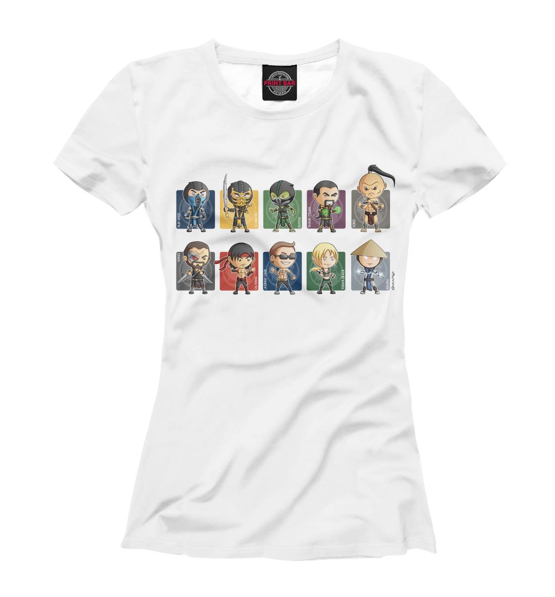 Купить Mortal Kombat Heroes, Printbar, Футболки, MKB-698428-fut-1
