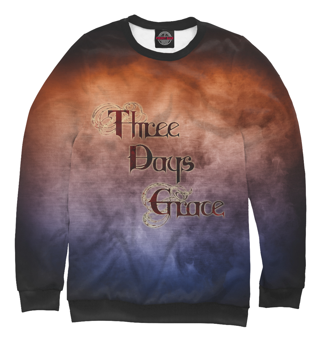 Купить Three Days Grace, Printbar, Свитшоты, TDG-149065-swi-1
