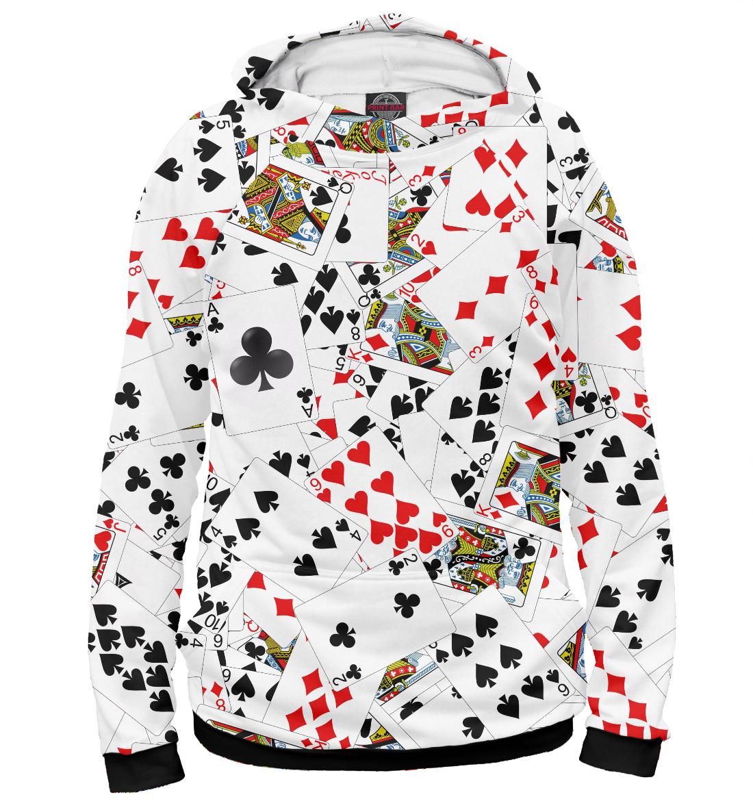 Купить Игральные карты, Printbar, Худи, NOV-320879-hud-1
