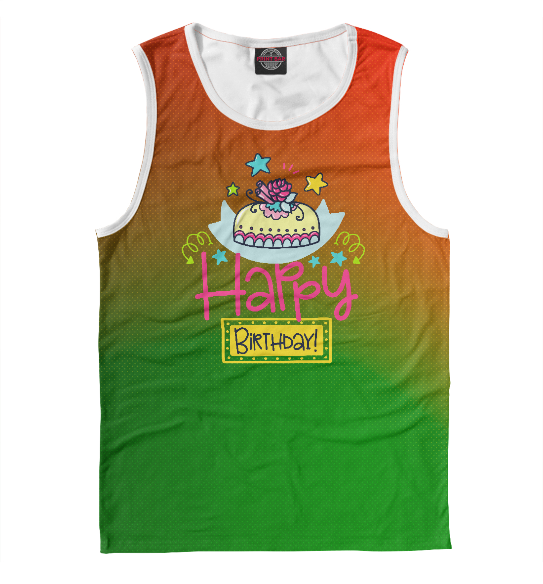 Купить Happy Birthday, Printbar, Майки, RZP-536797-may-2