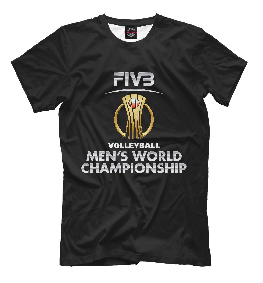 Купить FIVB (Federation internationale de volleyball), Printbar, Футболки, VLB-335856-fut-2