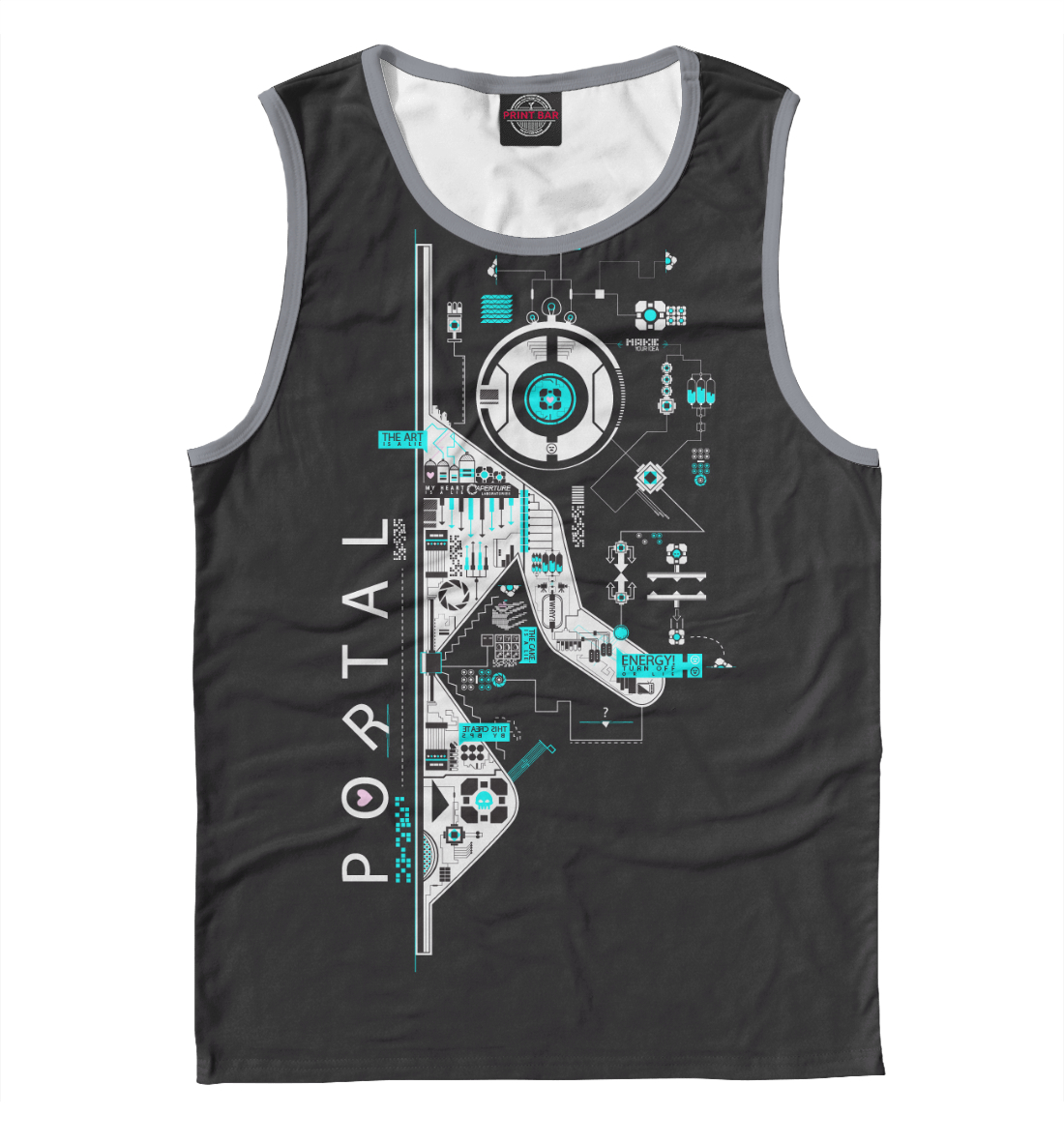 Купить Portal, Printbar, Майки, RPG-976615-may-2