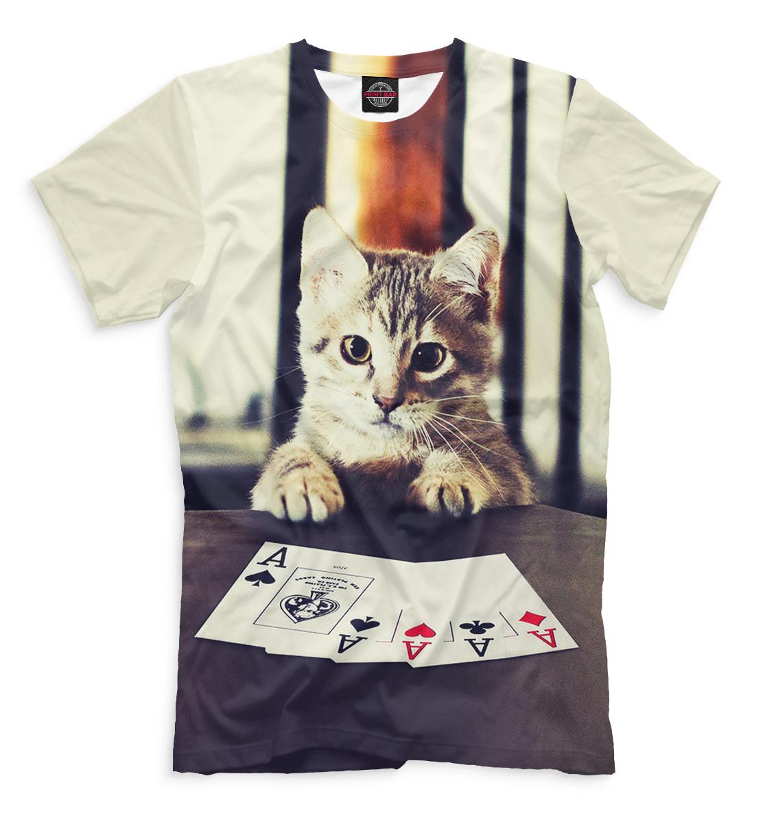 Купить Покер, Printbar, Футболки, POK-138666-fut-2