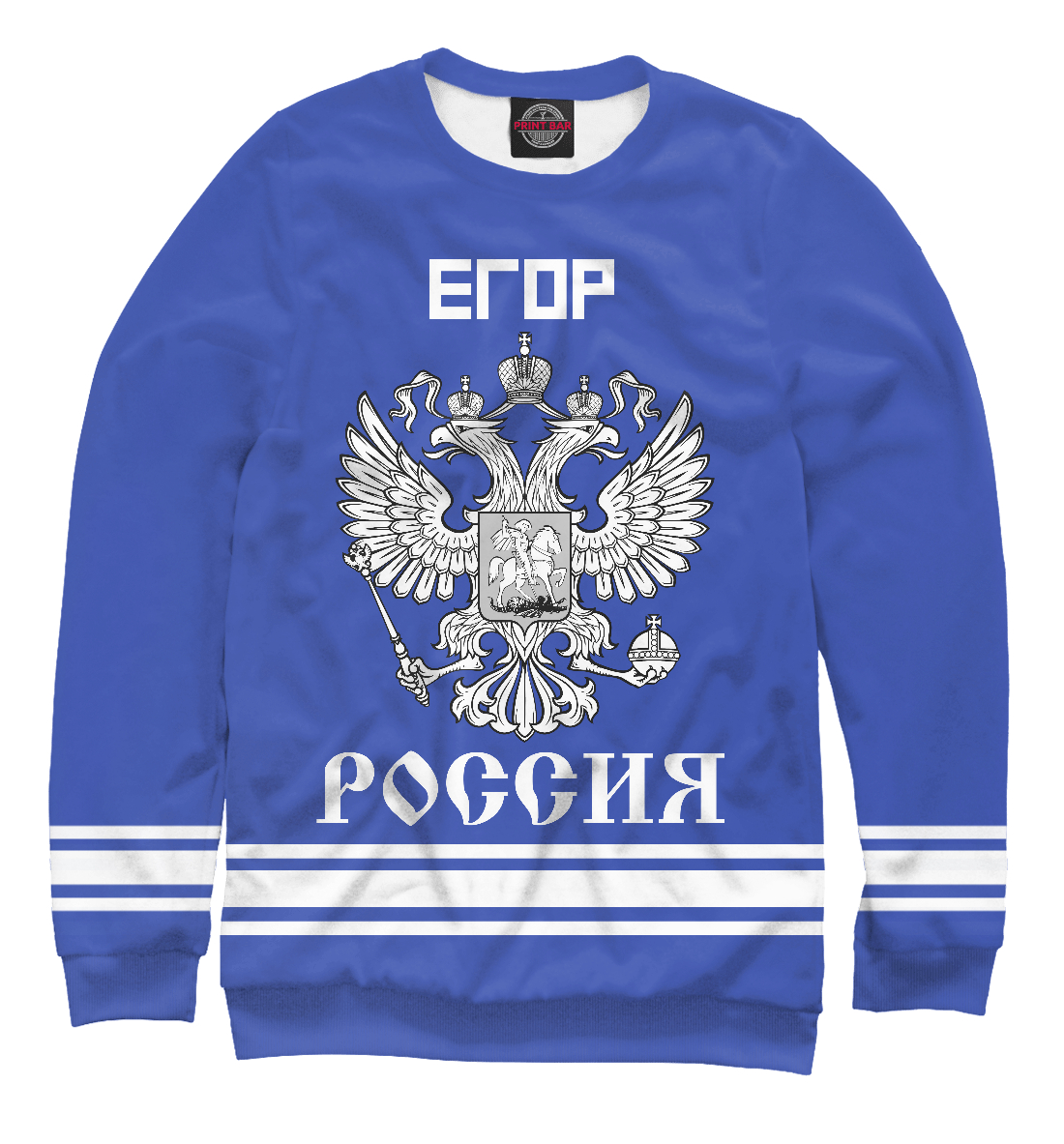 Купить ЕГОР sport russia collection, Printbar, Свитшоты, EGR-209759-swi-2