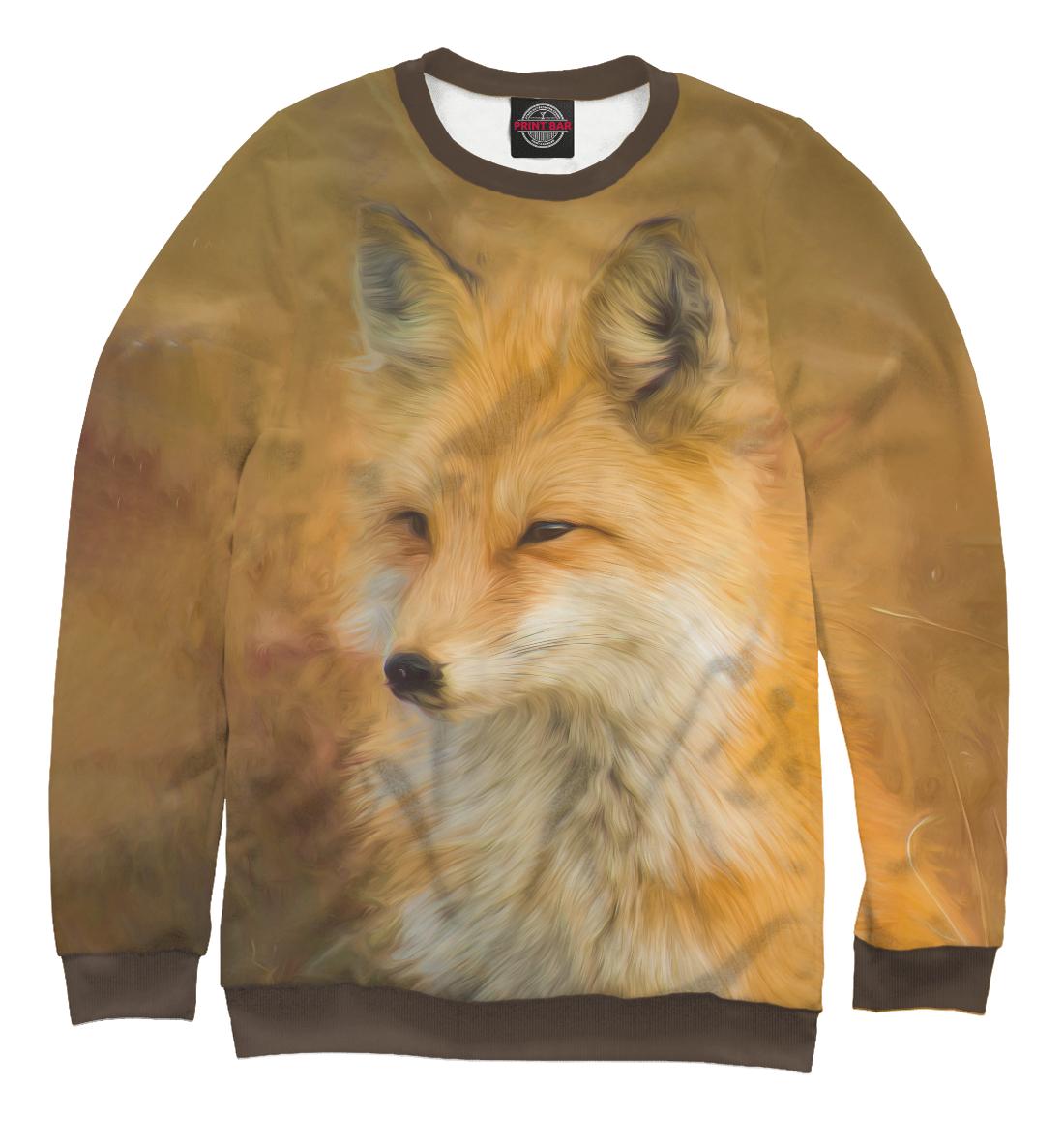 Купить Мудрая лиса, Printbar, Свитшоты, FOX-520814-swi-2