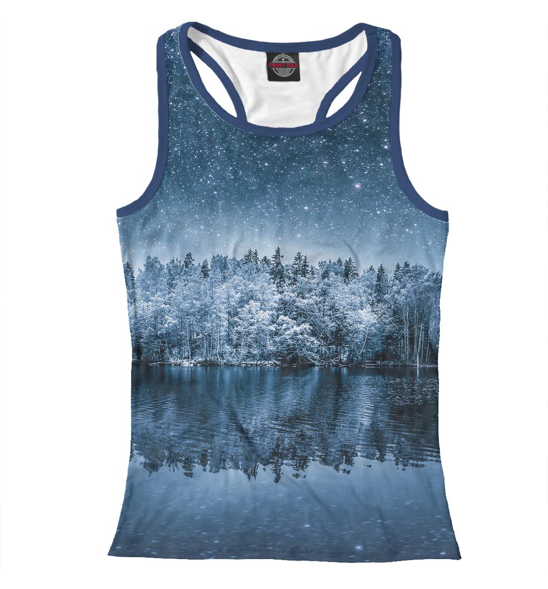 Купить Starry winter, Printbar, Майки борцовки, PEY-915278-mayb-1