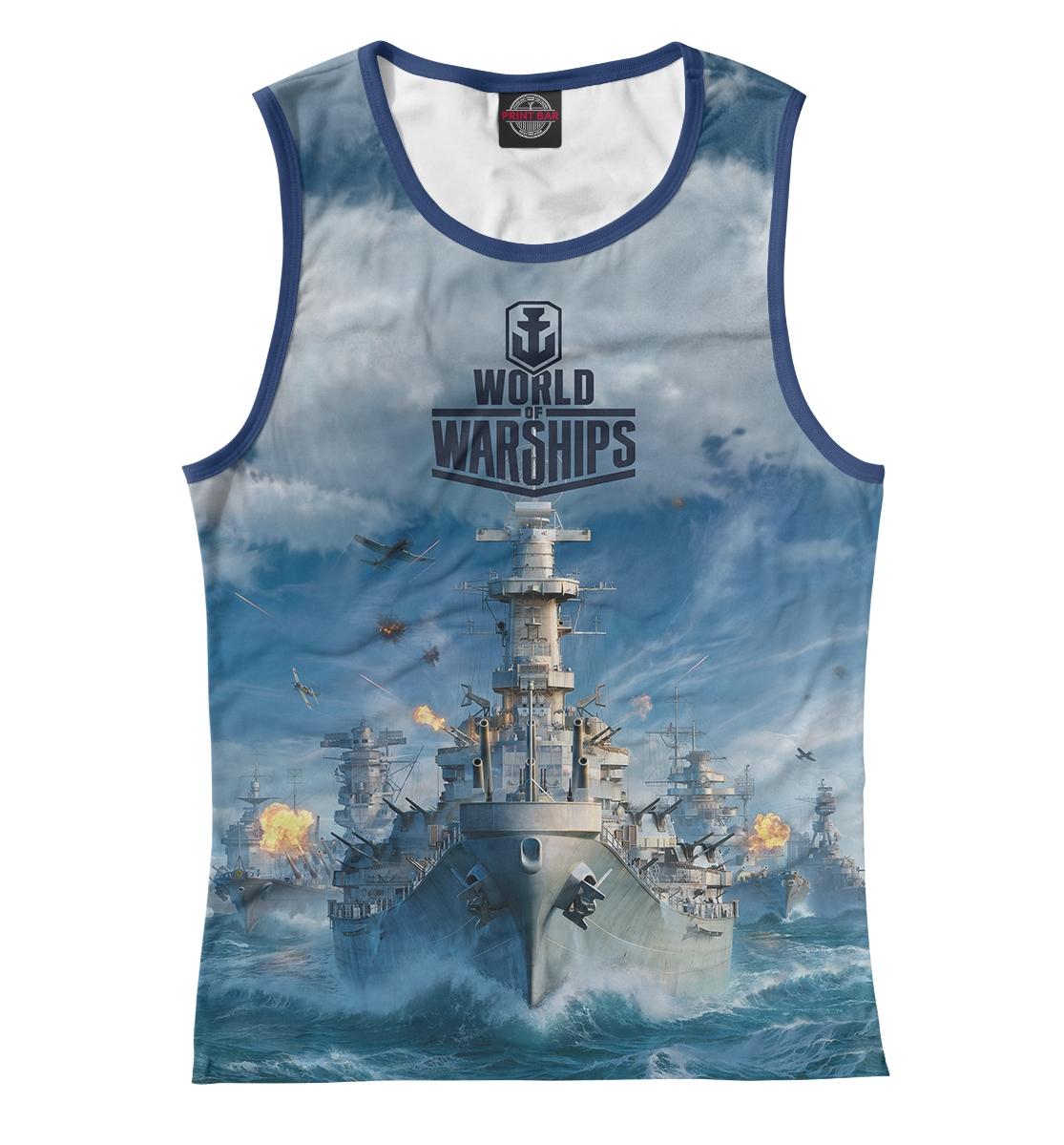 Купить World of Warships, Printbar, Майки, WOS-393185-may-1