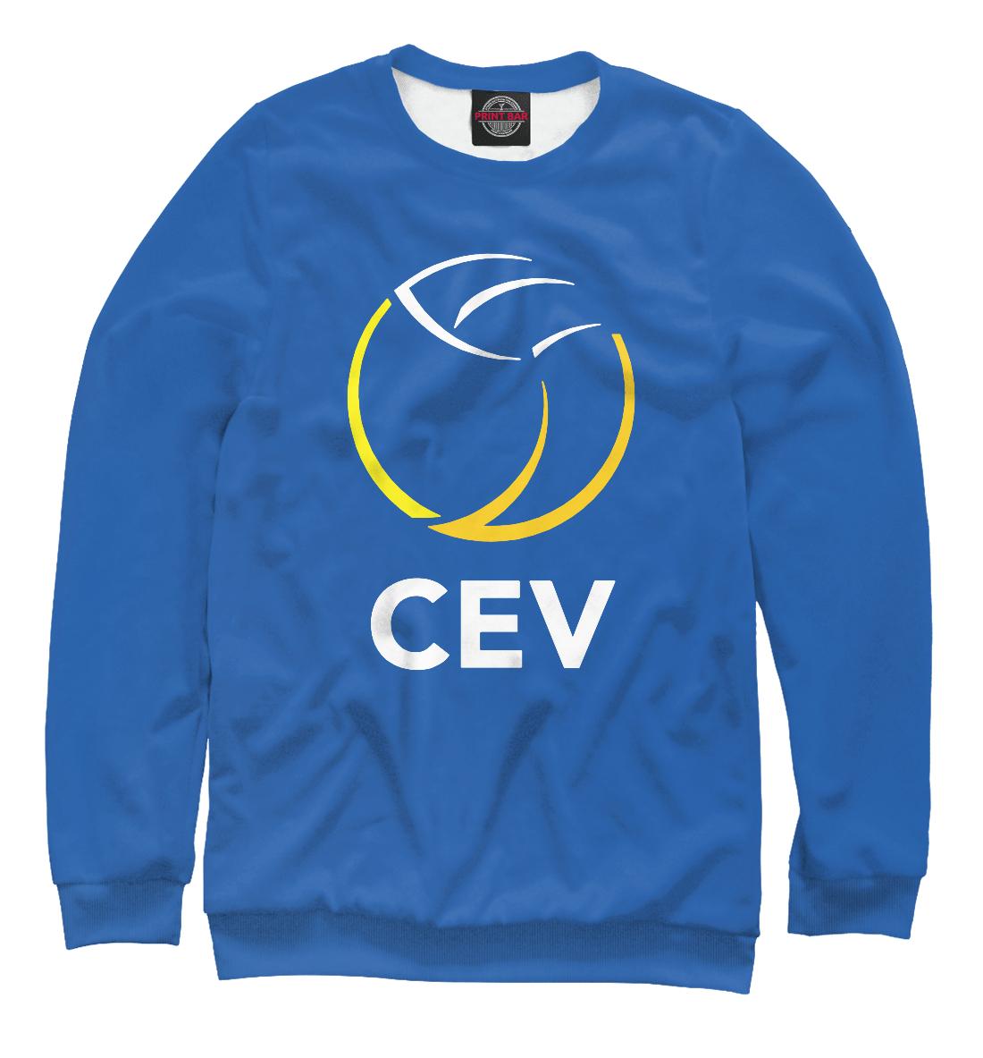Купить Volleyball CEV (European Volleyball Confederation), Printbar, Свитшоты, VLB-751765-swi-2