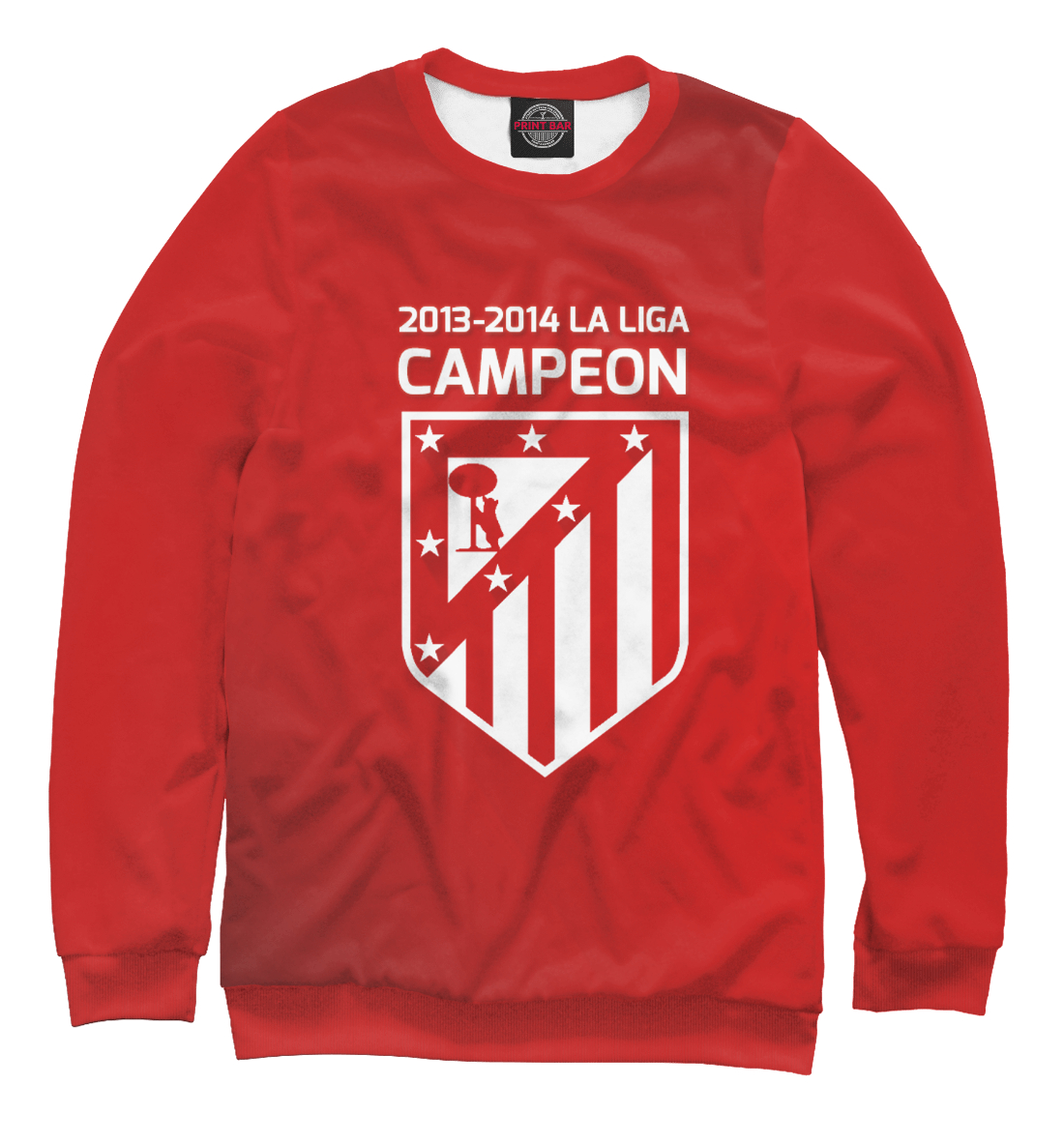 Купить Campeon La Liga 2013-2014, Printbar, Свитшоты, APD-448643-swi-1